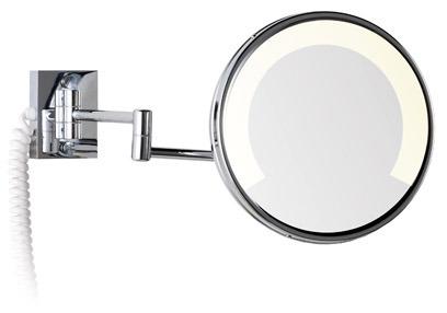 Espejo zen 2 brazos con luz fluorescente for Espejo aumento con luz