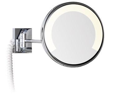 Espejo zen con luz fluorescente for Espejo aumento con luz